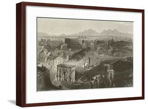 Ruins of Ancient Rome--Framed Art Print