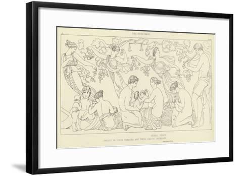 The Good Race-John Flaxman-Framed Art Print