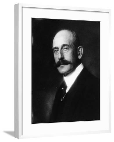 Portrait of Prince Maximilian of Baden--Framed Art Print