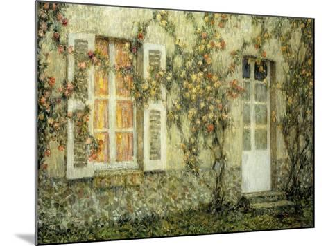 The House of Roses; Les Maison Aux Roses, 1936-Henri Eugene Augustin Le Sidaner-Mounted Giclee Print