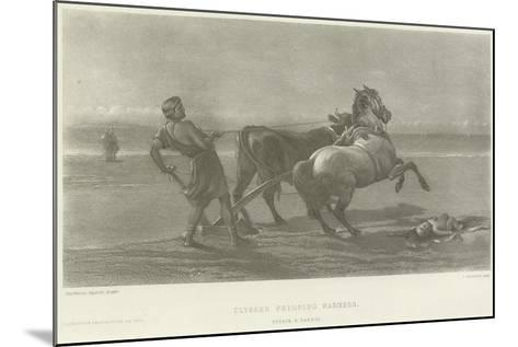Ulysses Feigning Madness-Heywood Hardy-Mounted Giclee Print