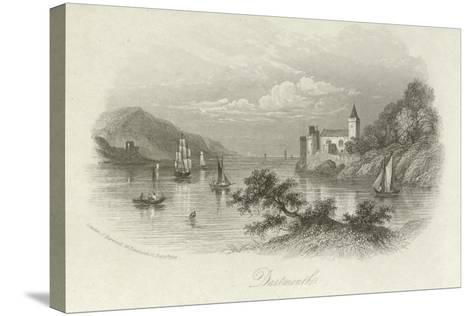 Dartmouth, Devon--Stretched Canvas Print