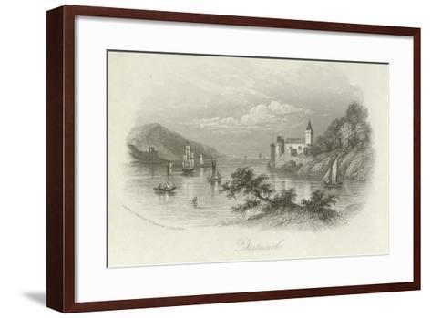 Dartmouth, Devon--Framed Art Print