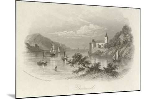 Dartmouth, Devon--Mounted Giclee Print