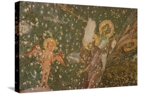 Angels from the Last Judgement, 14th Century--Stretched Canvas Print