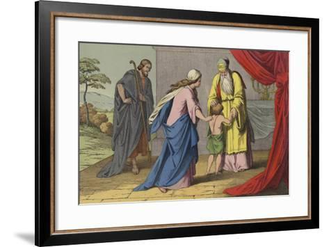Samuel Dedicated to the Lord--Framed Art Print