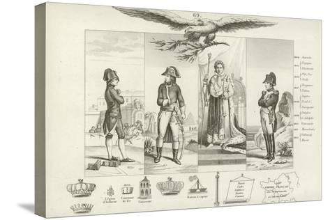 Napoleon Bonaparte--Stretched Canvas Print