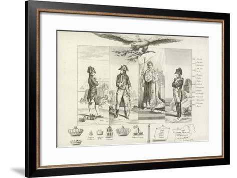 Napoleon Bonaparte--Framed Art Print