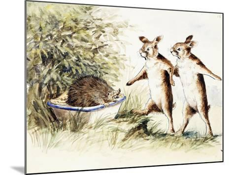 Prickle-Pie, C.1905--Mounted Giclee Print