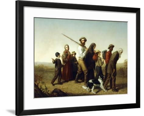 Union Refugees, 1865-George W. Pettit-Framed Art Print
