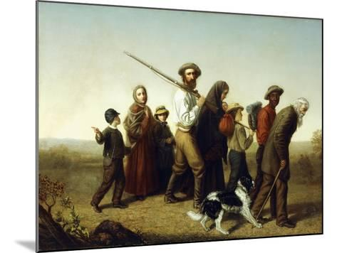 Union Refugees, 1865-George W. Pettit-Mounted Giclee Print