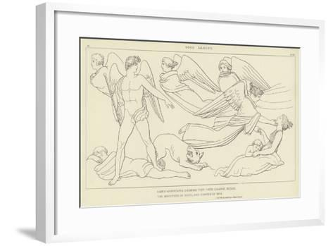 Good Daemons-John Flaxman-Framed Art Print
