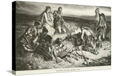 Funeral in the Bronze Age--Stretched Canvas Print