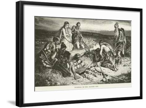 Funeral in the Bronze Age--Framed Art Print