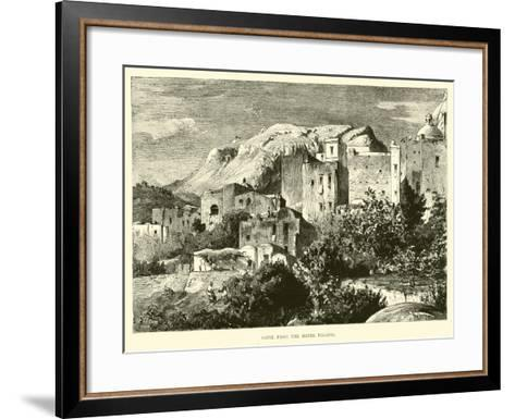Capri, from the Hotel Pagano--Framed Art Print