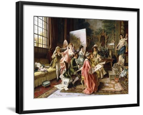 The Art Class-Arturo Ricci-Framed Art Print