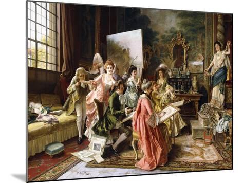 The Art Class-Arturo Ricci-Mounted Giclee Print