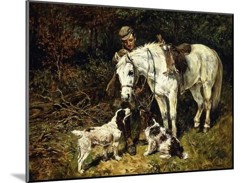After the Hunt-John Emms-Mounted Giclee Print