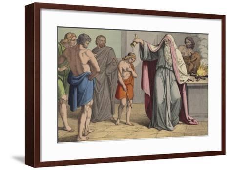 David Anointed King--Framed Art Print