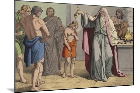 David Anointed King--Mounted Giclee Print