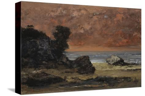 After the Storm, 1872-Gustave Courbet-Stretched Canvas Print