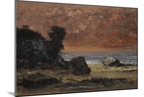 After the Storm, 1872-Gustave Courbet-Mounted Giclee Print