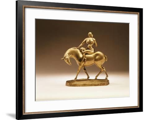 Equestrienne, 1918-Gaston Lachaise-Framed Art Print