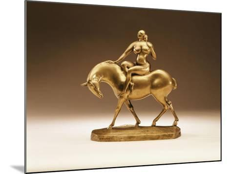 Equestrienne, 1918-Gaston Lachaise-Mounted Giclee Print