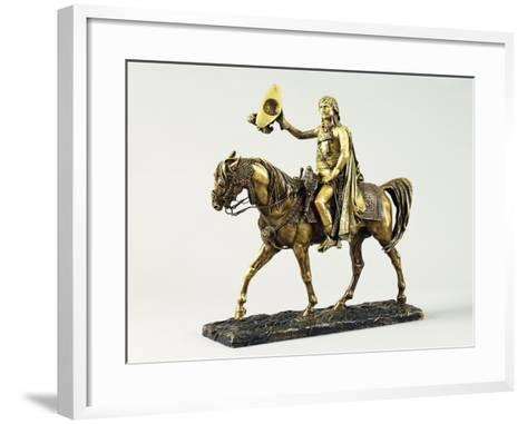 Bonaparte Entering Cairo-Jean Leon Gerome-Framed Art Print