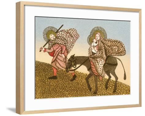Flight into Egypt II-Gillian Lawson-Framed Art Print