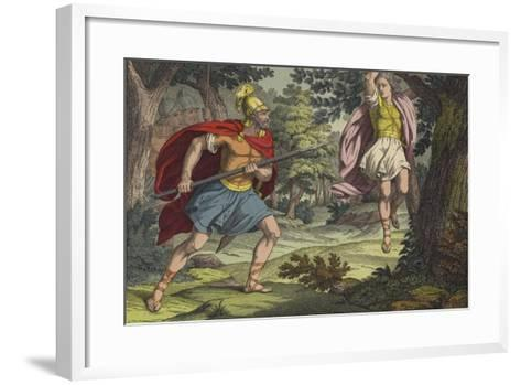 The Death of Absalom--Framed Art Print