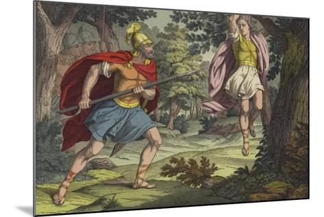 The Death of Absalom--Mounted Giclee Print