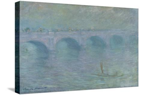 Waterloo Bridge in the Fog, 1903-Claude Monet-Stretched Canvas Print