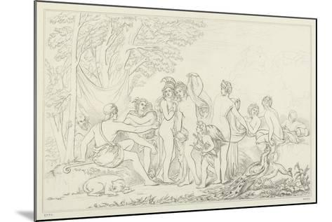 The Judgement of Paris-William Etty-Mounted Giclee Print