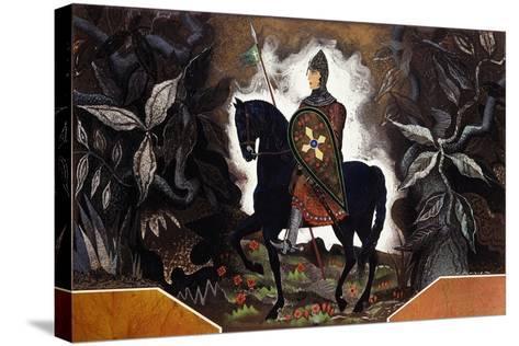 Le Chevalier Normand, C.1932-Francois-Louis Schmied-Stretched Canvas Print