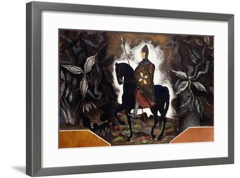 Le Chevalier Normand, C.1932-Francois-Louis Schmied-Framed Art Print