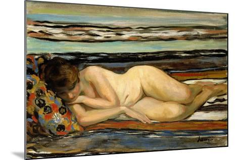 Nude Woman Sleeping; Nu Allonge-Henri Lebasque-Mounted Giclee Print