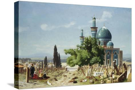The Fields of Rest, Brousse-Jean Leon Gerome-Stretched Canvas Print