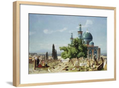 The Fields of Rest, Brousse-Jean Leon Gerome-Framed Art Print