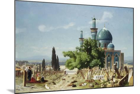 The Fields of Rest, Brousse-Jean Leon Gerome-Mounted Giclee Print