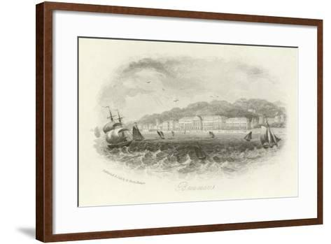 Beaumaris, Anglesey, Wales--Framed Art Print