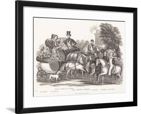 The Royal Family--Framed Art Print