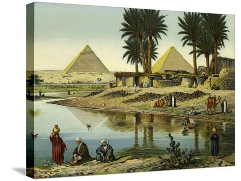 The Pyramids of Gizeh--Stretched Canvas Print