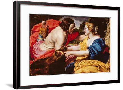 Return from the Hunt Or, Meleager and Atalanta-Abraham Janssens Van Nuyssen-Framed Art Print