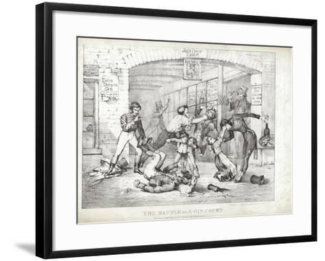 The Battle of A-Gin-Court--Framed Art Print