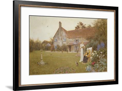 The Sundial, 1898-Thomas James Lloyd-Framed Art Print