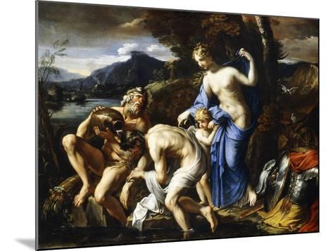 The Deification of Aeneas, 1642-1645-Francois Perrier-Mounted Giclee Print
