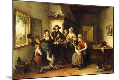 The Peddler's Wares-J.J.M. Damschroeder-Mounted Giclee Print
