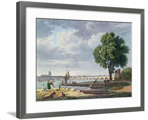 Bordeaux, C.1830-40-Jacques Raymond Brascassat-Framed Art Print