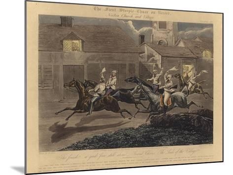 The First Steeplechase on Record-Henry Thomas Alken-Mounted Giclee Print